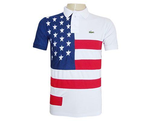 3eb8f0400e6 Camisa Polo Lacoste Estados Unidos - O Mais Barato
