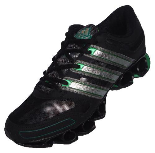 adidas bounce verde e preto