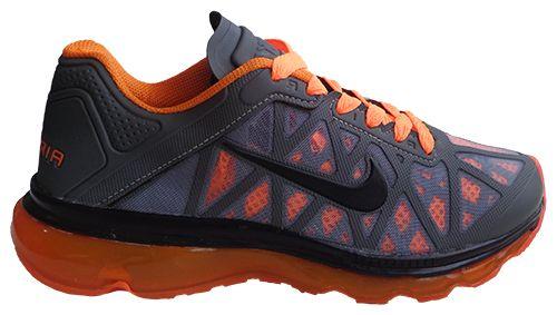 3caf3455bc Tênis Nike Air Max 2011 Grafite e Laranja - O Mais Barato