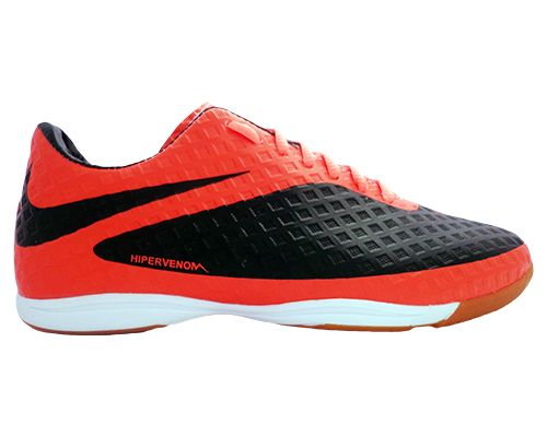 c32c35dff6ebd Tênis Futsal Nike Hypervenom Preto e Laranja - O Mais Barato
